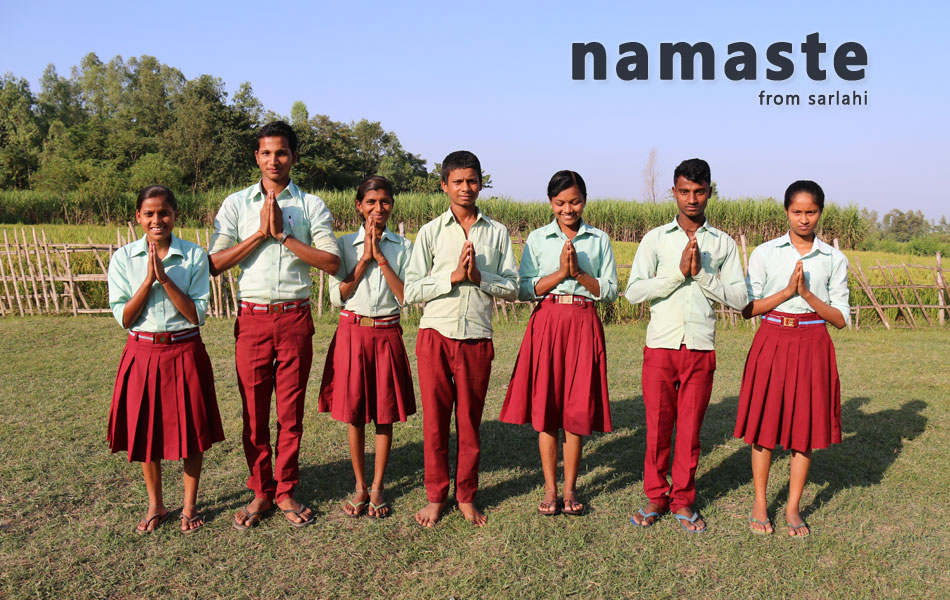 namaste from sarlahi